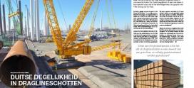 Duitse degelijkheid in draglineschotten
